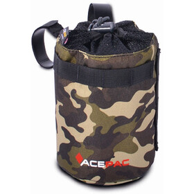 Acepac Fat Bottle Bag - Bolsa bicicleta - beige/marrón